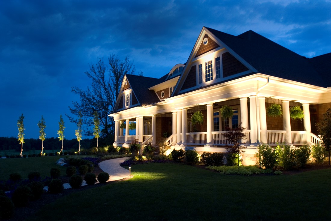 Outdoor Residential Landscape Lighting Services Wiring Portfolio Our Warranty