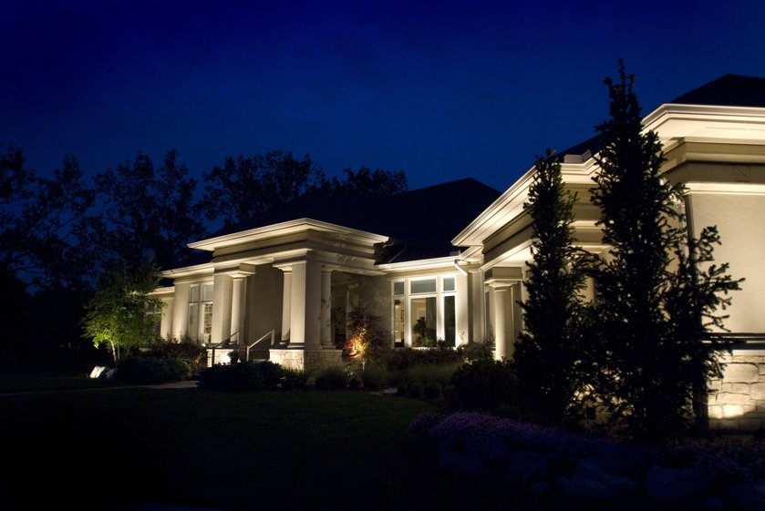 Residential Outdoor Lighting Gallery