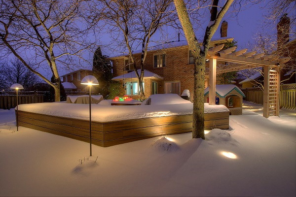 Fall Maintenance And Winter Outdoor Lighting Design Ideas